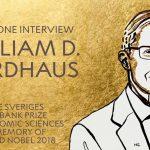 노벨상을 받은 기후경제학자, 윌리엄 노드하우스