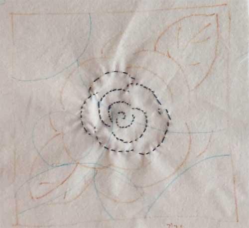 바늘땀이 촘촘한 장미꽃 (2021.6.2.)